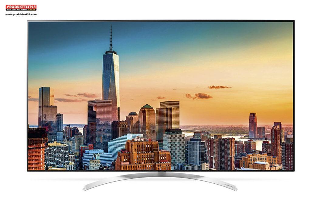 LG 55SJ8509 Super UHD Fernseher mit Harman & Kardon Soundsystem