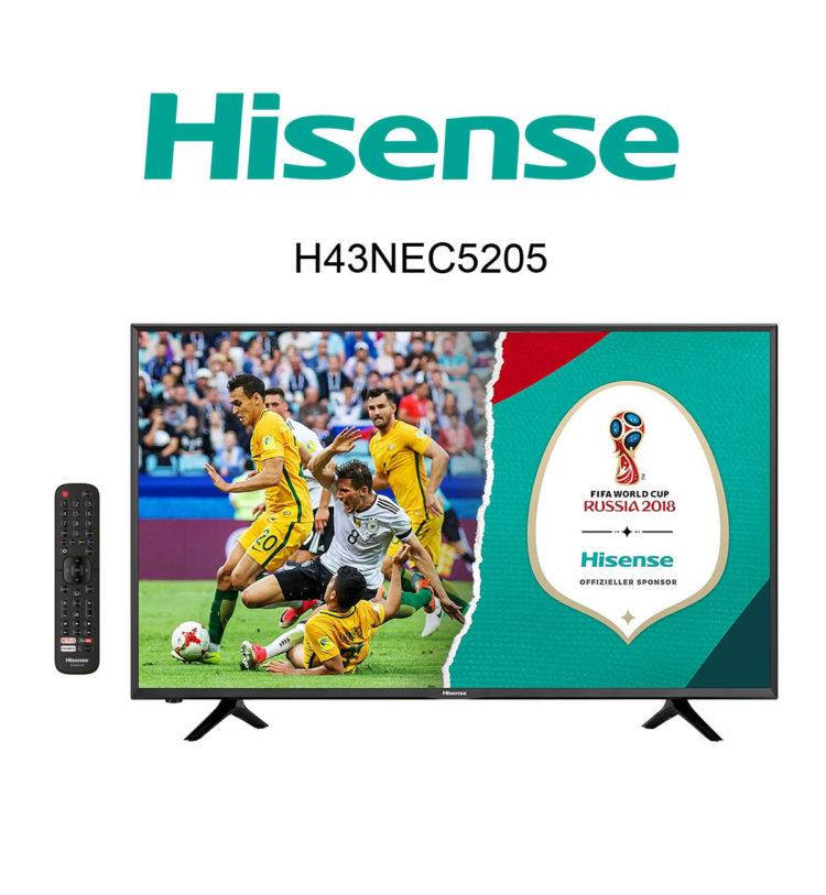 Im Test: Hisense H43NEC5205 Ultra HD Fernseher