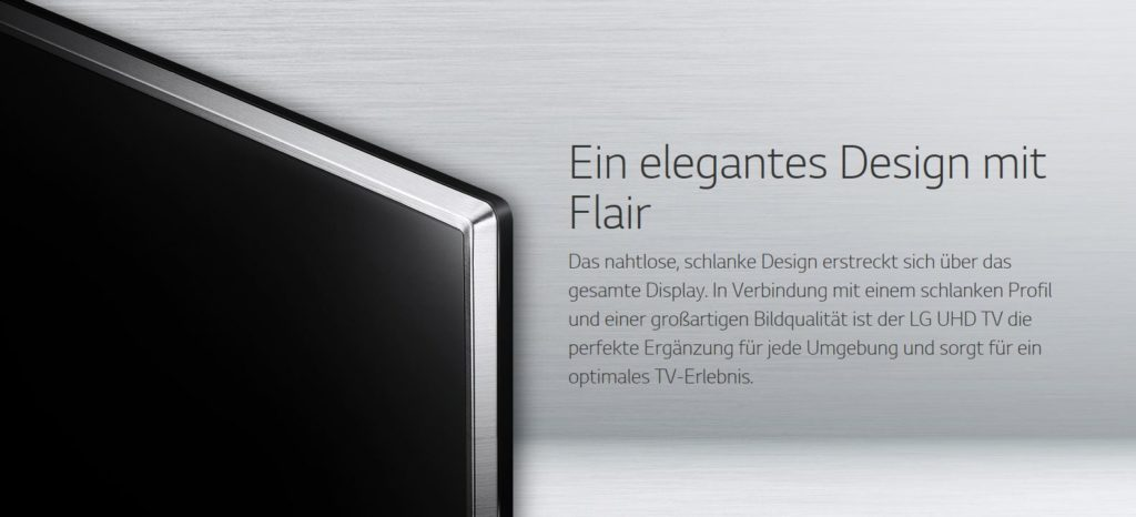 lg 55uj6519 ultra hd fernseher im test test und rezensionen zu elektronik. Black Bedroom Furniture Sets. Home Design Ideas