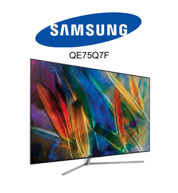 Samsung 75 Zoll QLED TV QE75Q7F