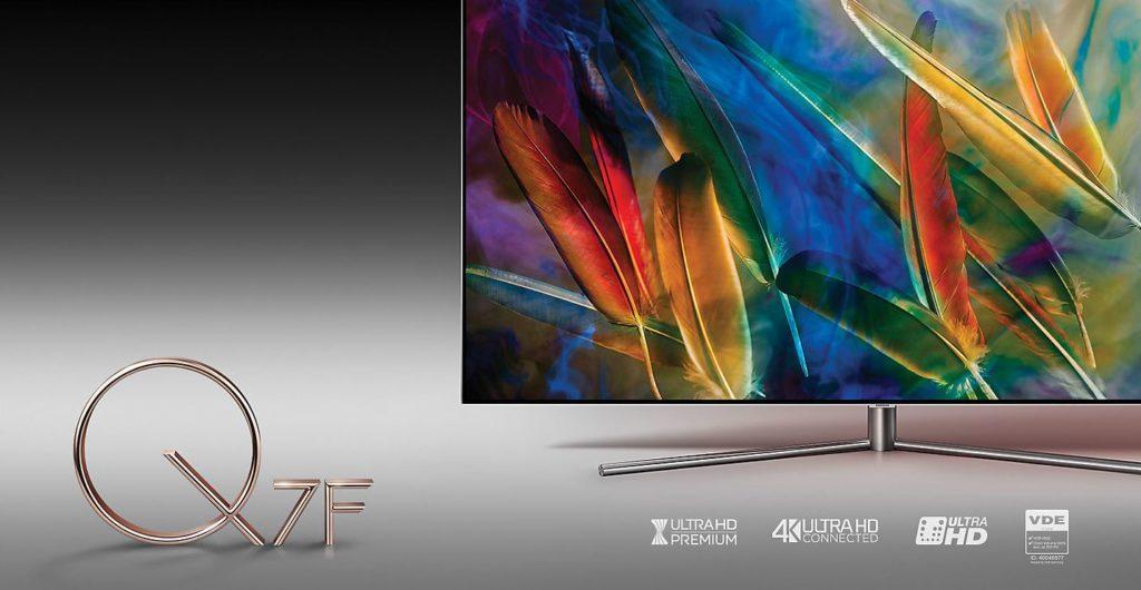 Samsung 75 Zoll Qled Tv Qe75q7f Im Test Produkttest24com Test
