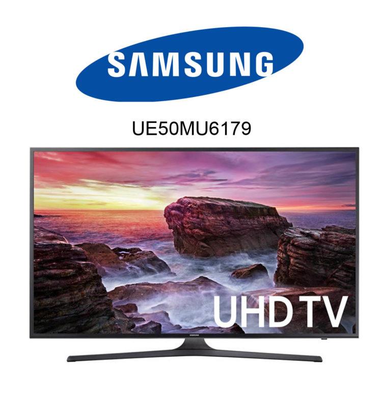 Samsung UE50MU6179 Ultra HD Fernseher mit HDR