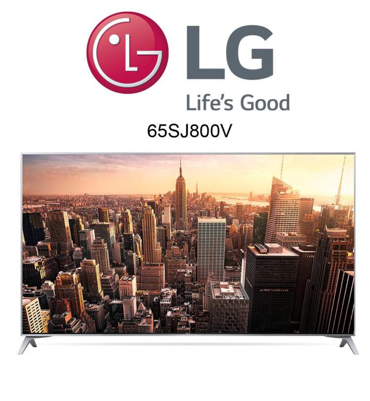 LG 65SJ800V UHD Fernseher mit Nano Cell Display und HDR