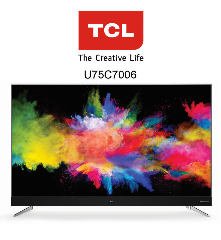 TCL U75C7006 UHD Android TV