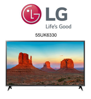 LG 55UK6300 Ultra HD 4K Fernseher mit HDR10 Pro