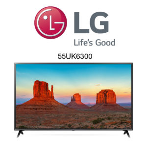 LG 55UK6300 UHD TV mit Active HDR
