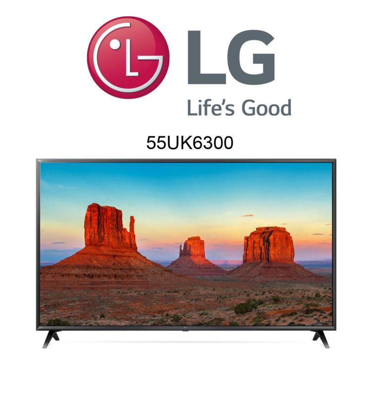 LG 55UK6300 UHD TV mit Active HDR