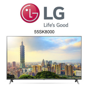 LG 55SK8000 Ultra HD TV mit Dolby Atmos Sound