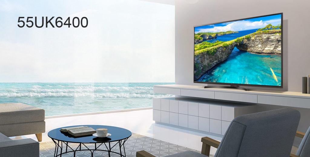 der neue lg 55uk6400 ultra hd fernseher im praxistest test und rezensionen. Black Bedroom Furniture Sets. Home Design Ideas