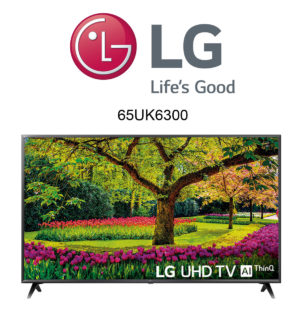 LG 65UK6300 Ultra HD Fernseher mit Active HDR
