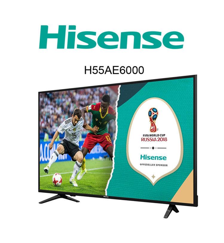 Hisense H55AE6000 / H55A6100 Ultra HD TV im Test