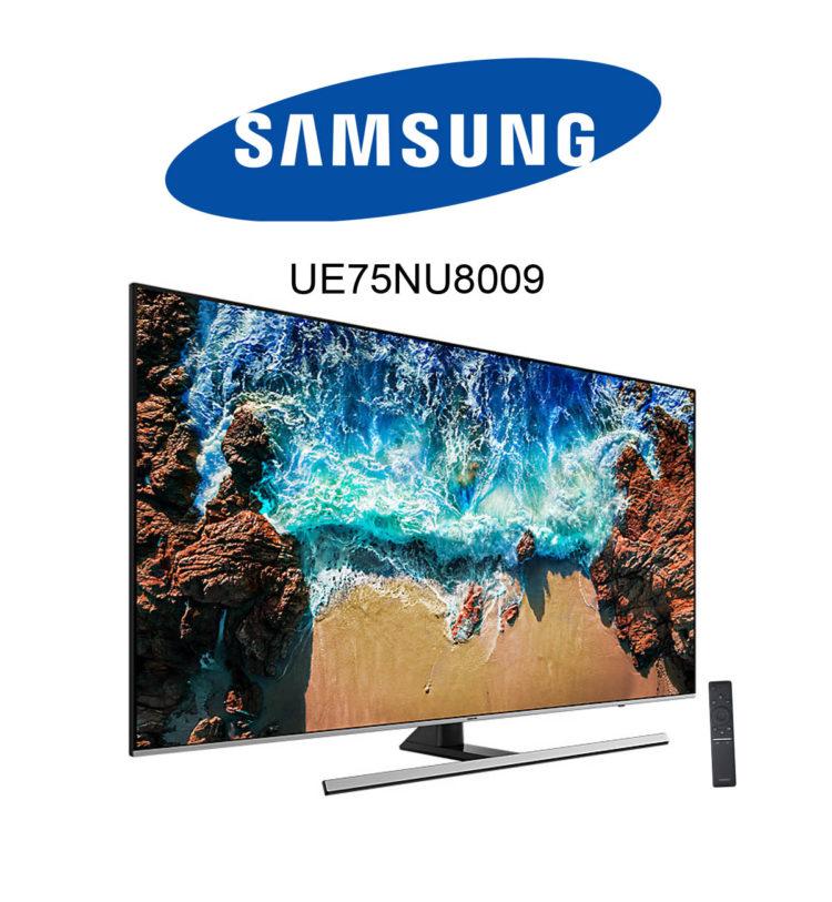 Samsung UE75NU8009 Ultra HD TV mit HDR10+ im Test