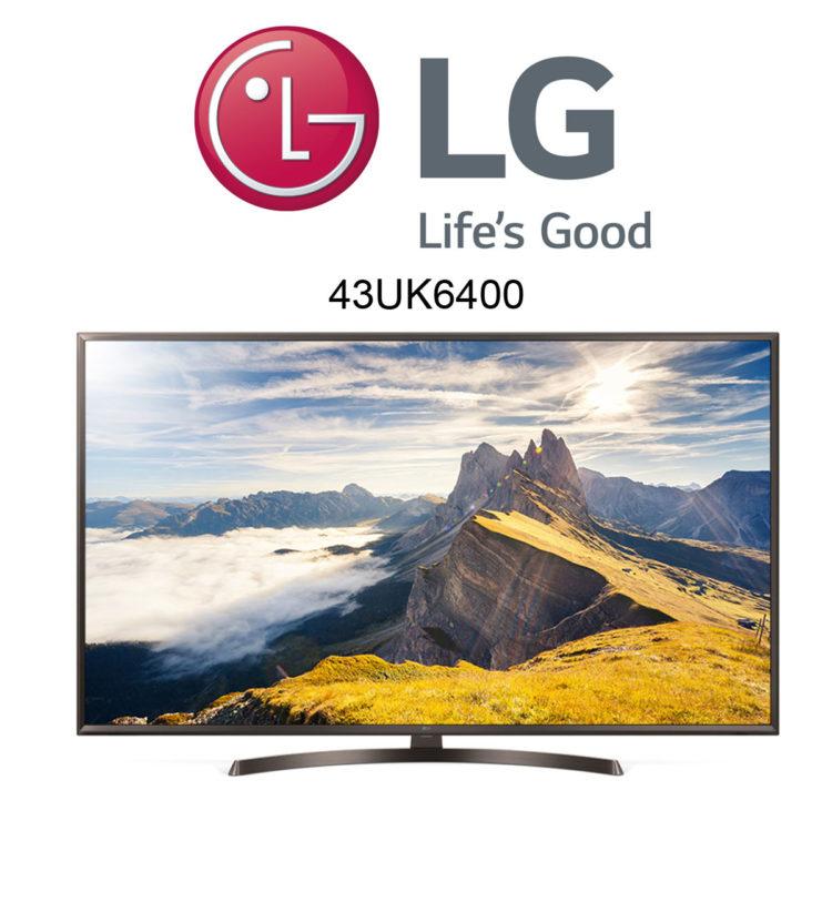 LG 43UK6400 4K Fernseher mit Smart TV