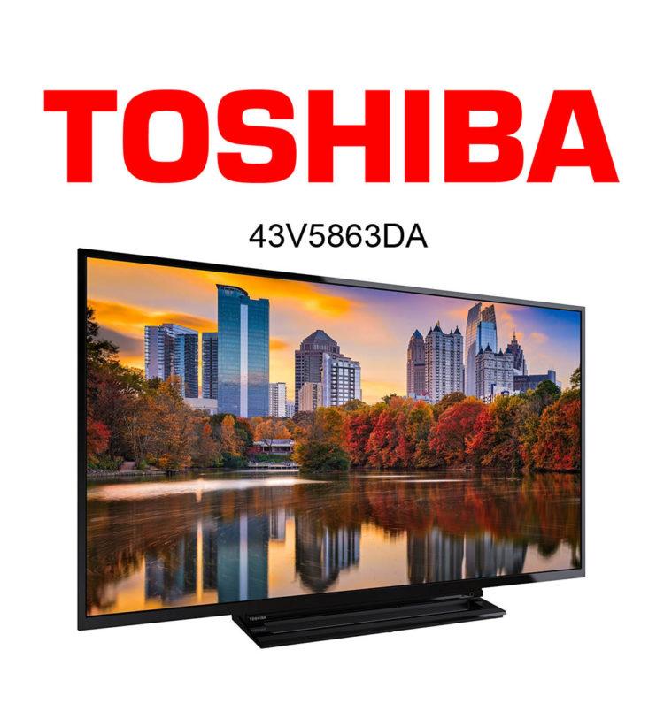 Toshiba 43V5863DA im Test