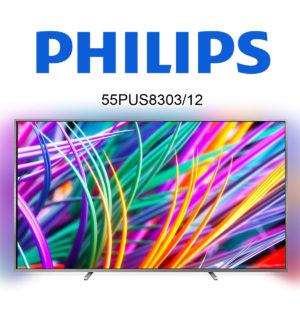 Philips 55PUS8303/12 (55PUS8383/12) mit 4K-Auflösung und Ambilight