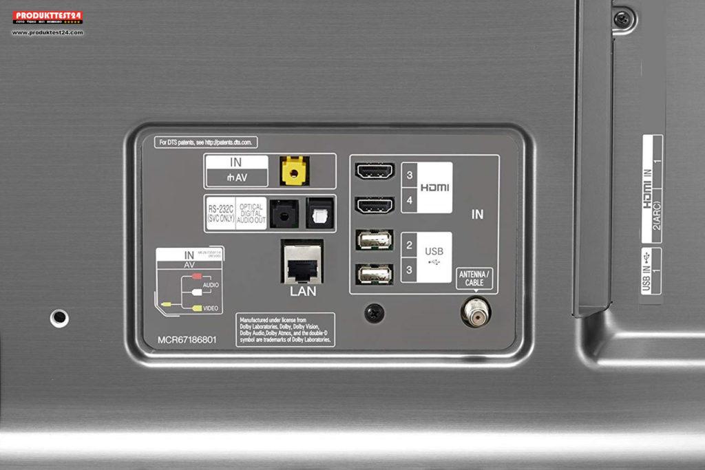 LG 55SK8100 Super UHD TV mit HDR10 und Dolby Vision