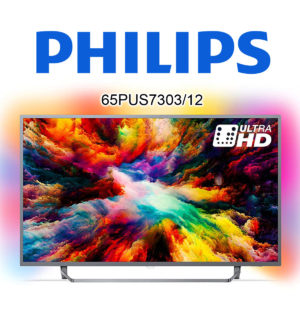 Philips 65PUS7303/12 Ultra HD TV mit HDR10