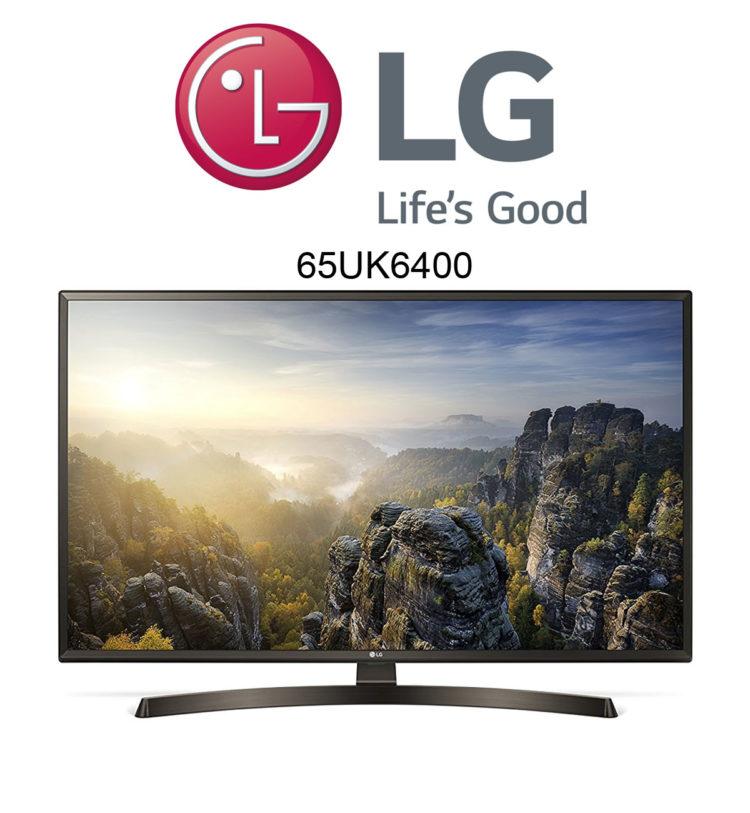 lg 65uk6400 ultra hd fernseher mit smart tv und hdr10 pro. Black Bedroom Furniture Sets. Home Design Ideas