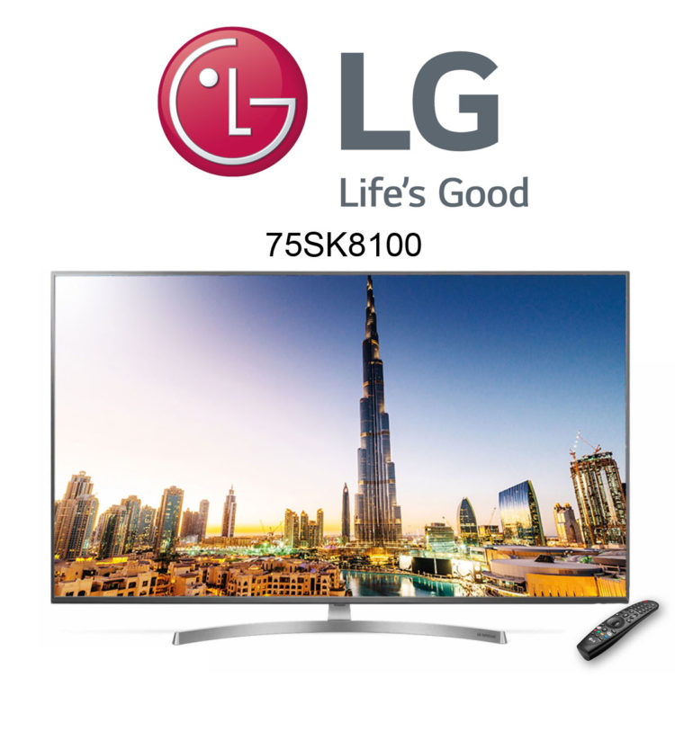 LG 75SK8100 Ultra HD TV mit Dolby Atmos