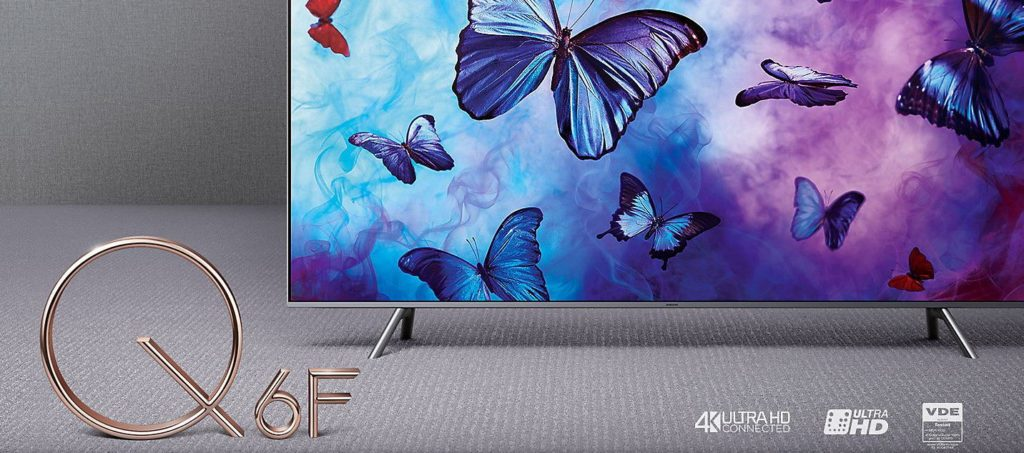 samsung gq55q6fn 4k qled fernseher im test produkttest24. Black Bedroom Furniture Sets. Home Design Ideas