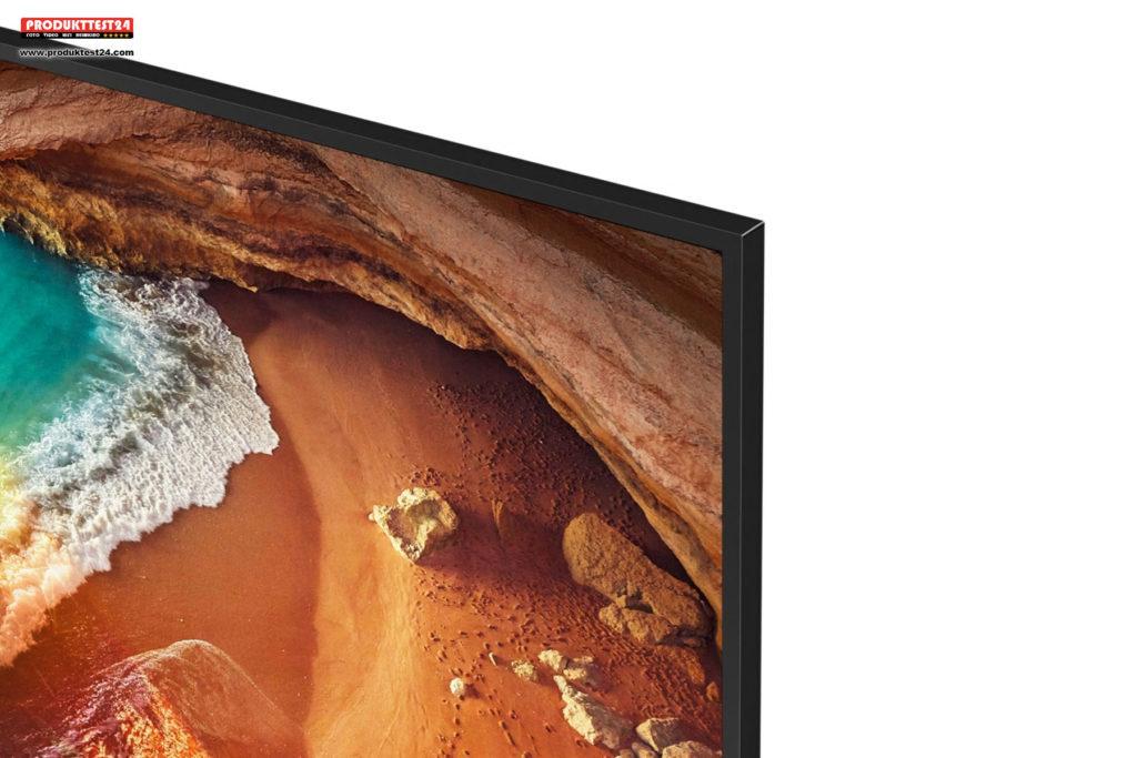 Samsung Q60R - Schmaler Alu Rahmen