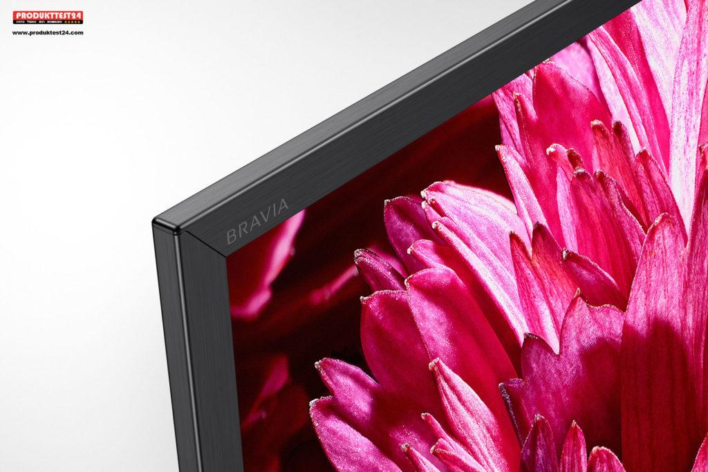 Sony XG95 - Dünner Rahmen im gebürstetem Aluminium