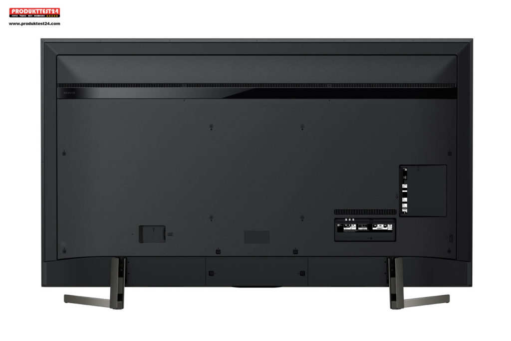 Sony KD-75XG9505 - Die Rückseite