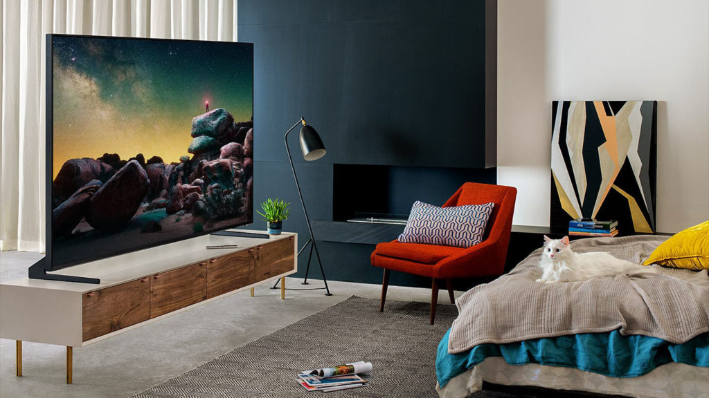 samsung gq82q950r im test 8k fernseher 82 zoll samsung q950r test und. Black Bedroom Furniture Sets. Home Design Ideas
