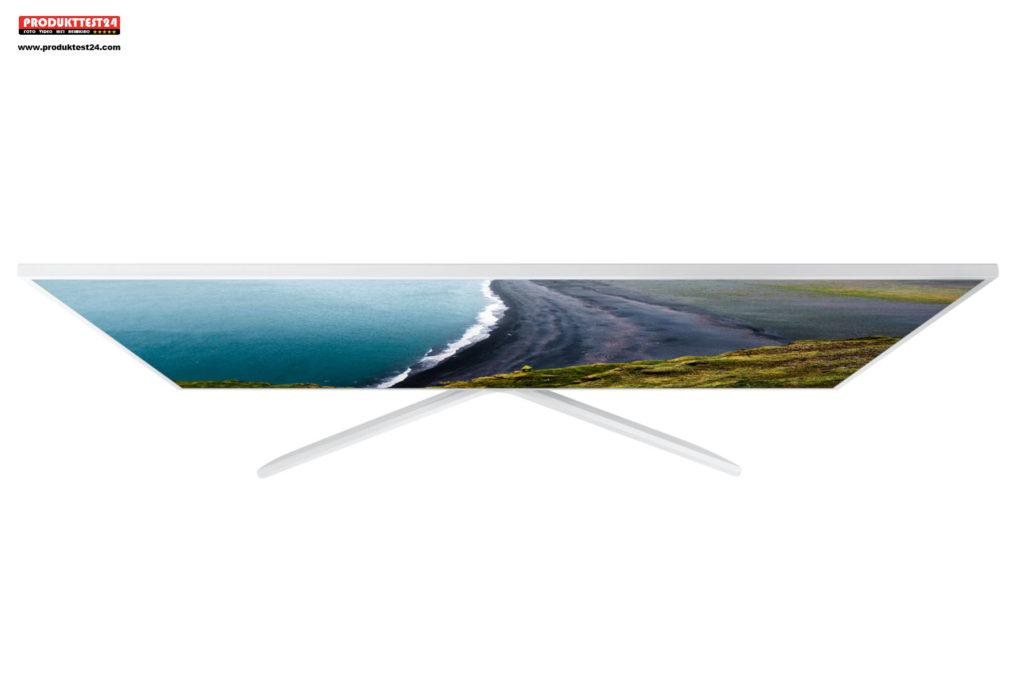 Der Samsung 4K TV im edlen Weiß