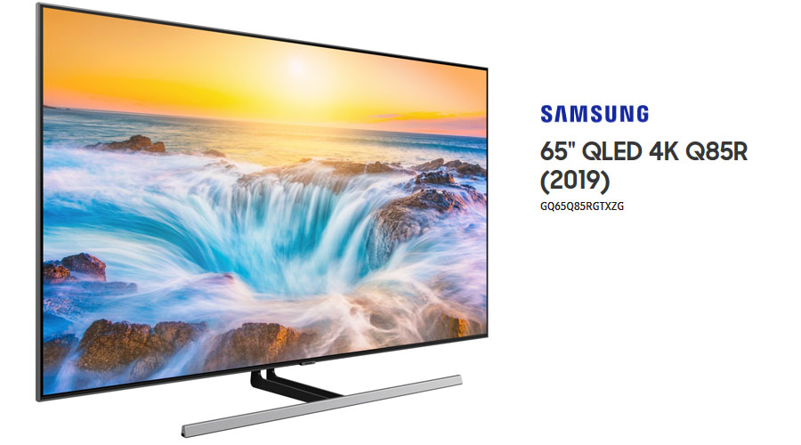 samsung gq65q85rgtxzg im test 65 zoll qled 4k fernseher. Black Bedroom Furniture Sets. Home Design Ideas