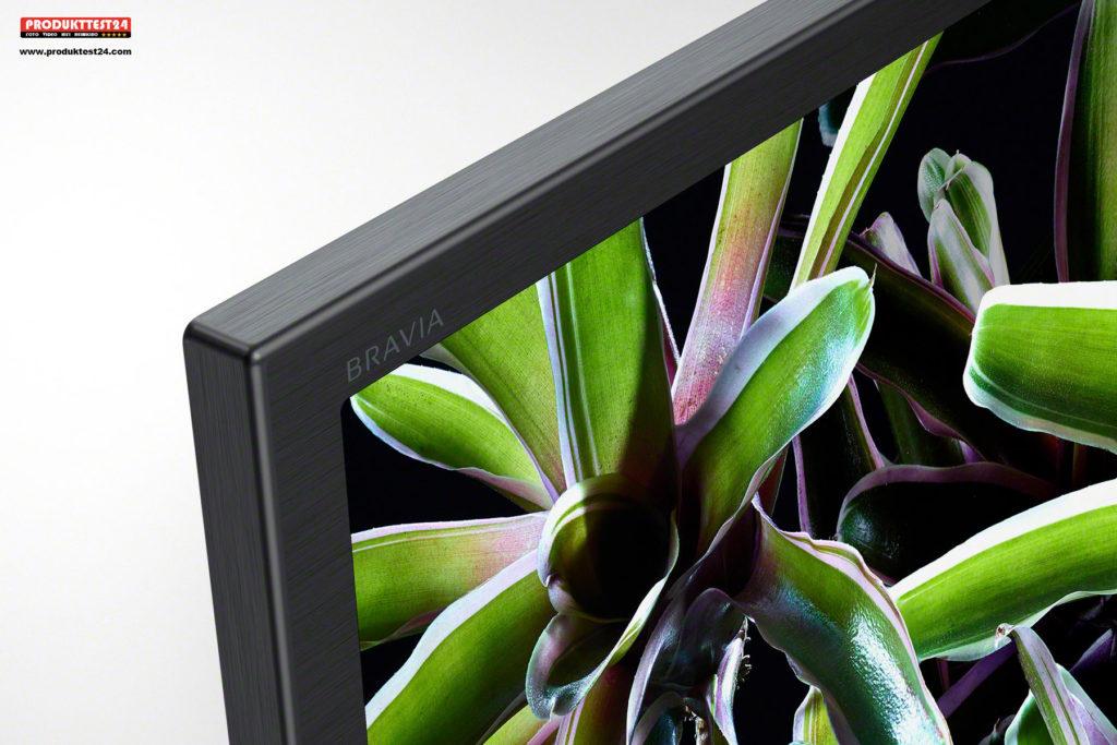 Sony BRAVIA KD-49XG7005 - Schlankes Design in hochwertiger Aluminiumoptik