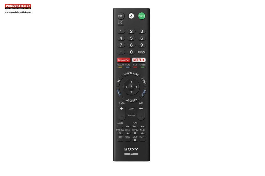 Sony BRAVIA KD-49XG7005 - Fernbedienung 2019