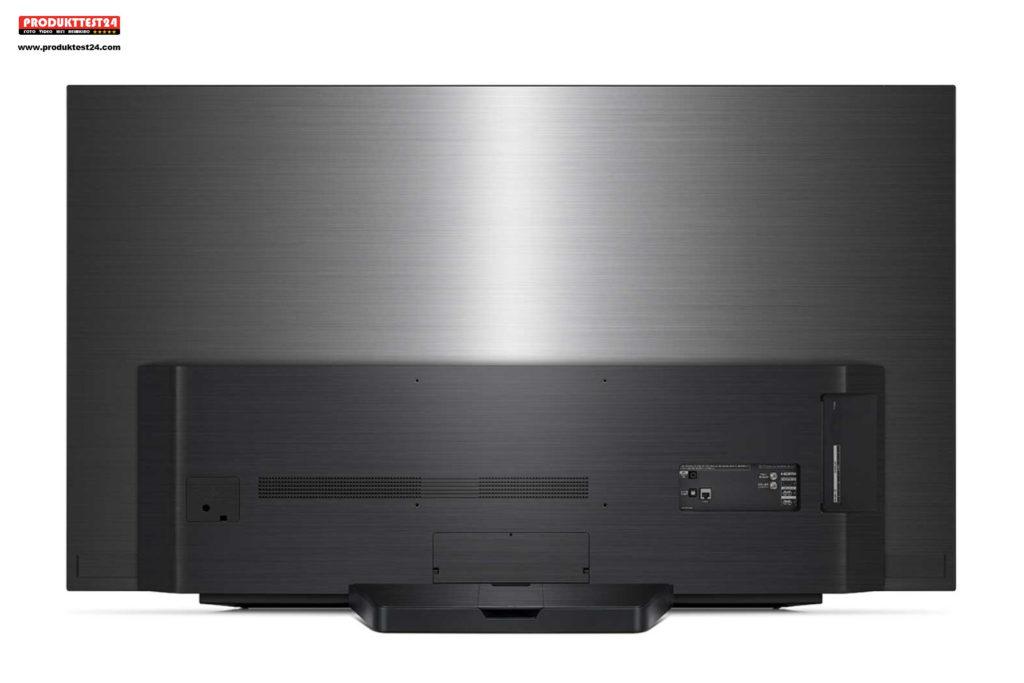 LG OLED55C9 - Auch auf der Rückseite hochwertig gestaltet