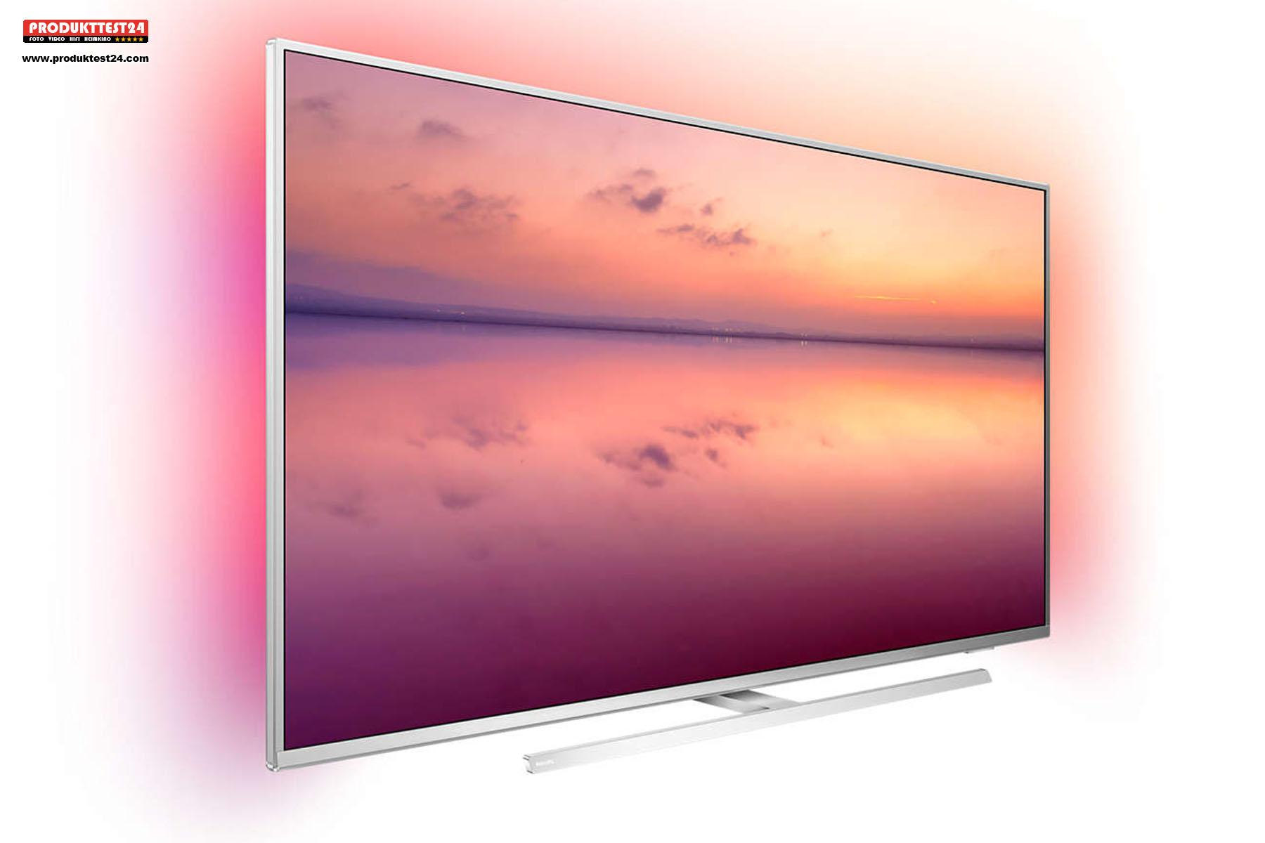Philips 43PUS6814/12 - 4K Fernseher mit Ambilight und Amazon Alexa