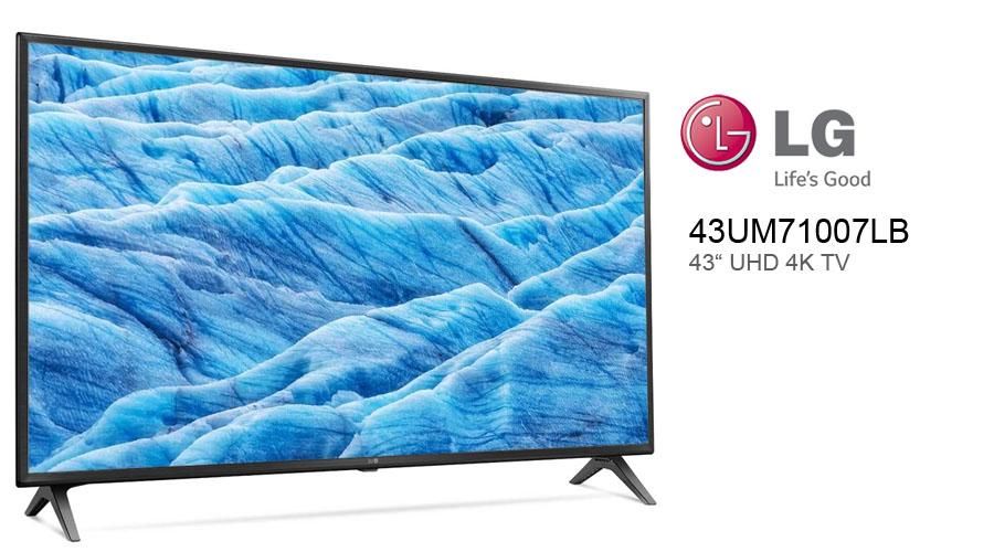Im Praxistest: LG 43UM7100 Ultra HD 4K Fernseher