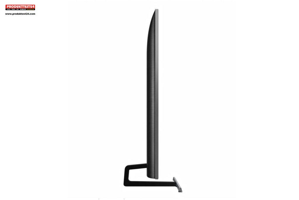 Das super schlanke Design des Samsung GQ75Q85R