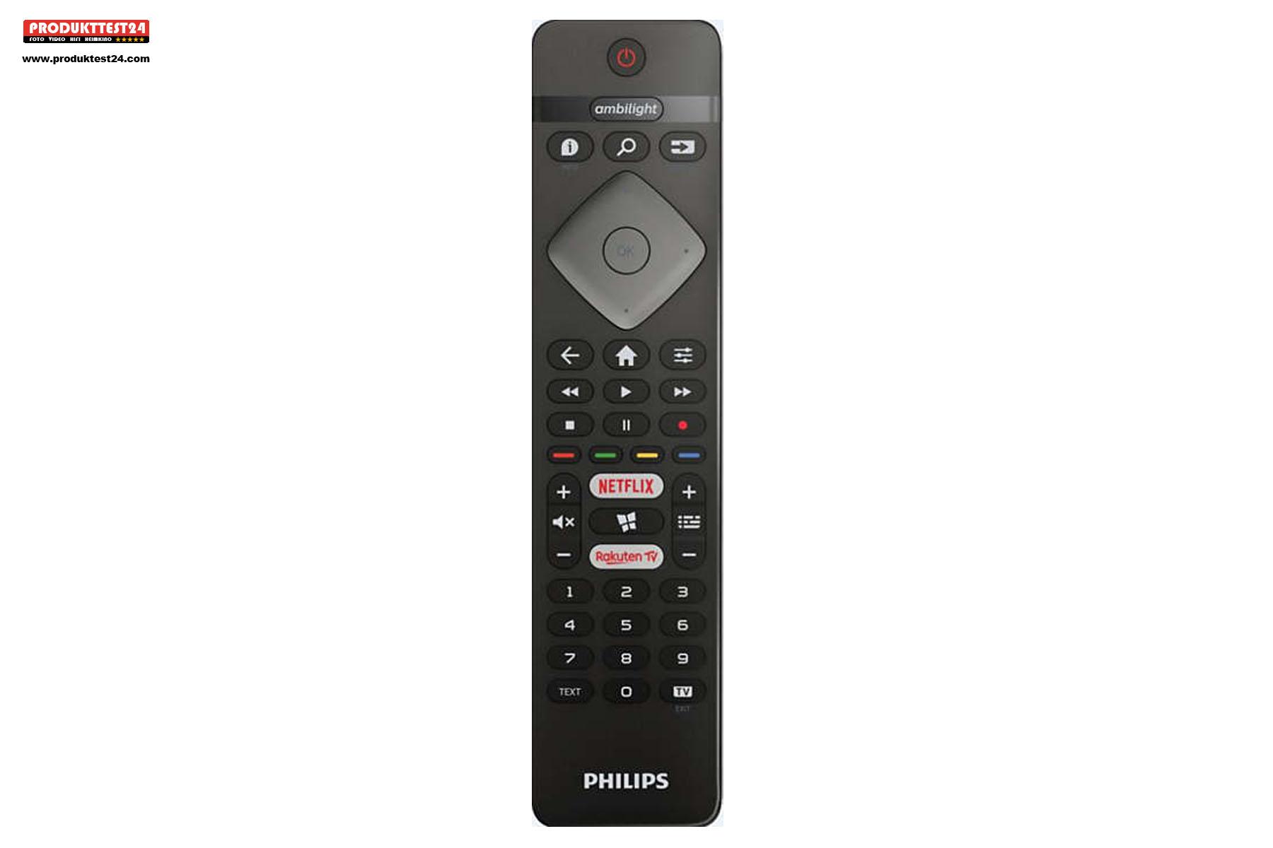 Philips 43PUS6704/12 Fernbedienung
