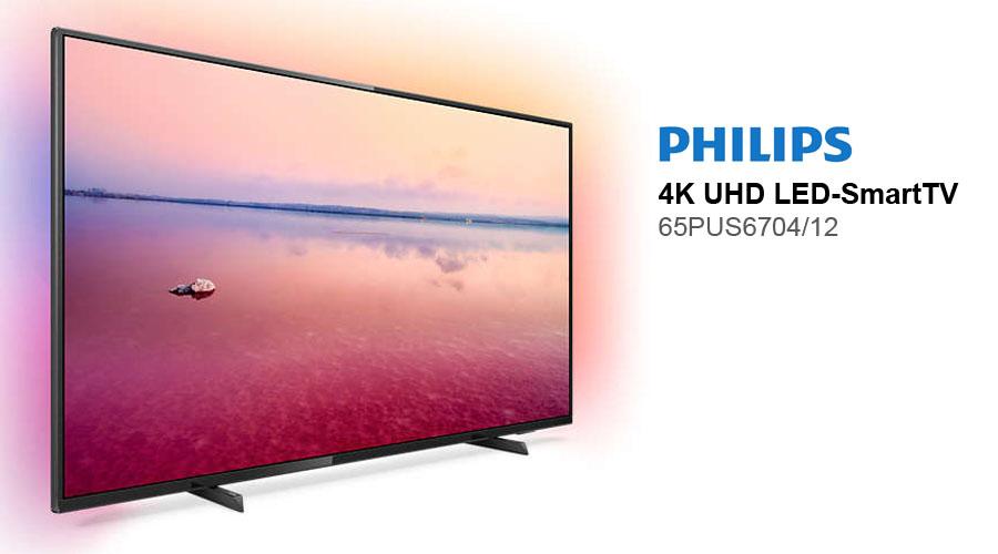 philips 65pus6704 12 ultra hd 4k fernseher im test test und rezensionen zu. Black Bedroom Furniture Sets. Home Design Ideas