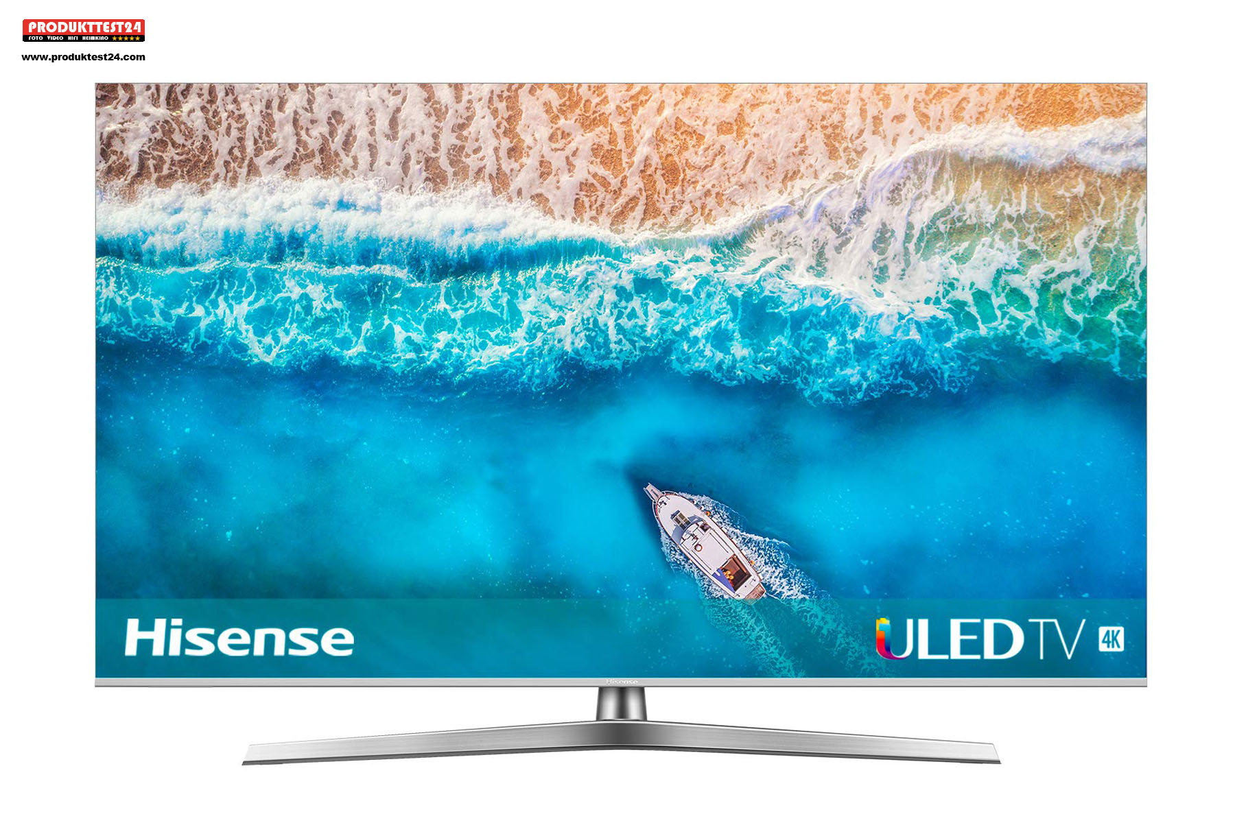Hisense H65U7B ULED 4K Fernseher mit HDR10+, Dolby Vision und Dolby Atmos Sound