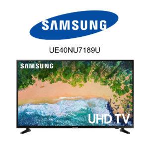 Samsung UE40NU7189U im Test