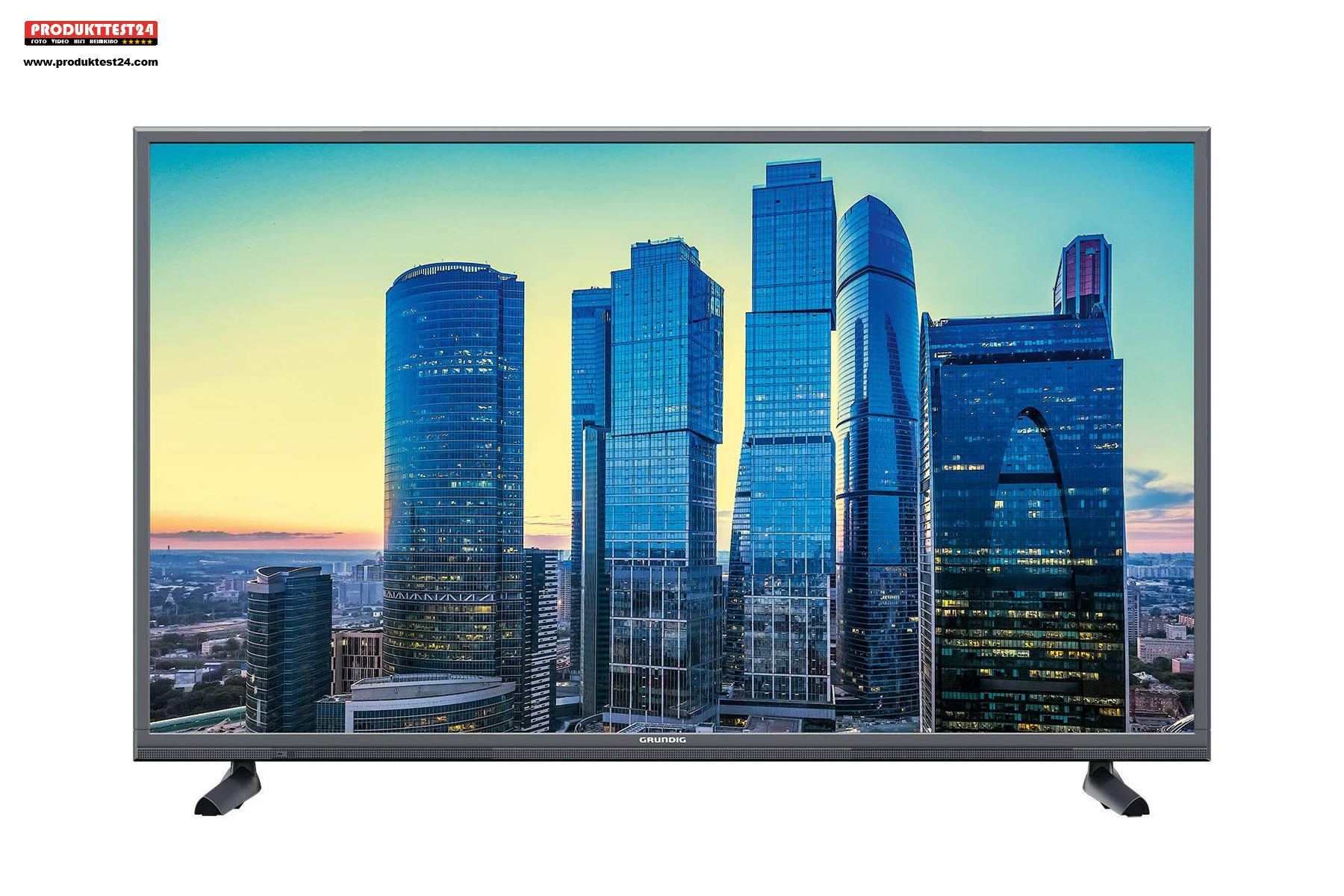Der Grundig 4K Fernseher mit einer Bilddiagonale von 108 cm