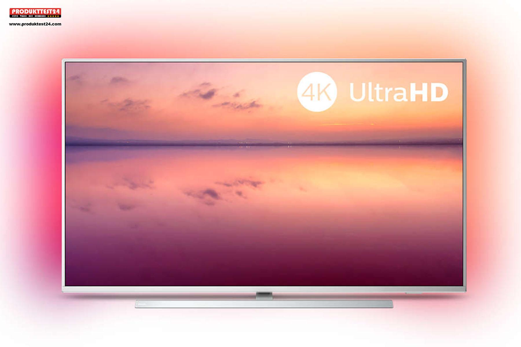 Philips 55PUS6814/12 Ultra HD Fernseher mit Ambilight