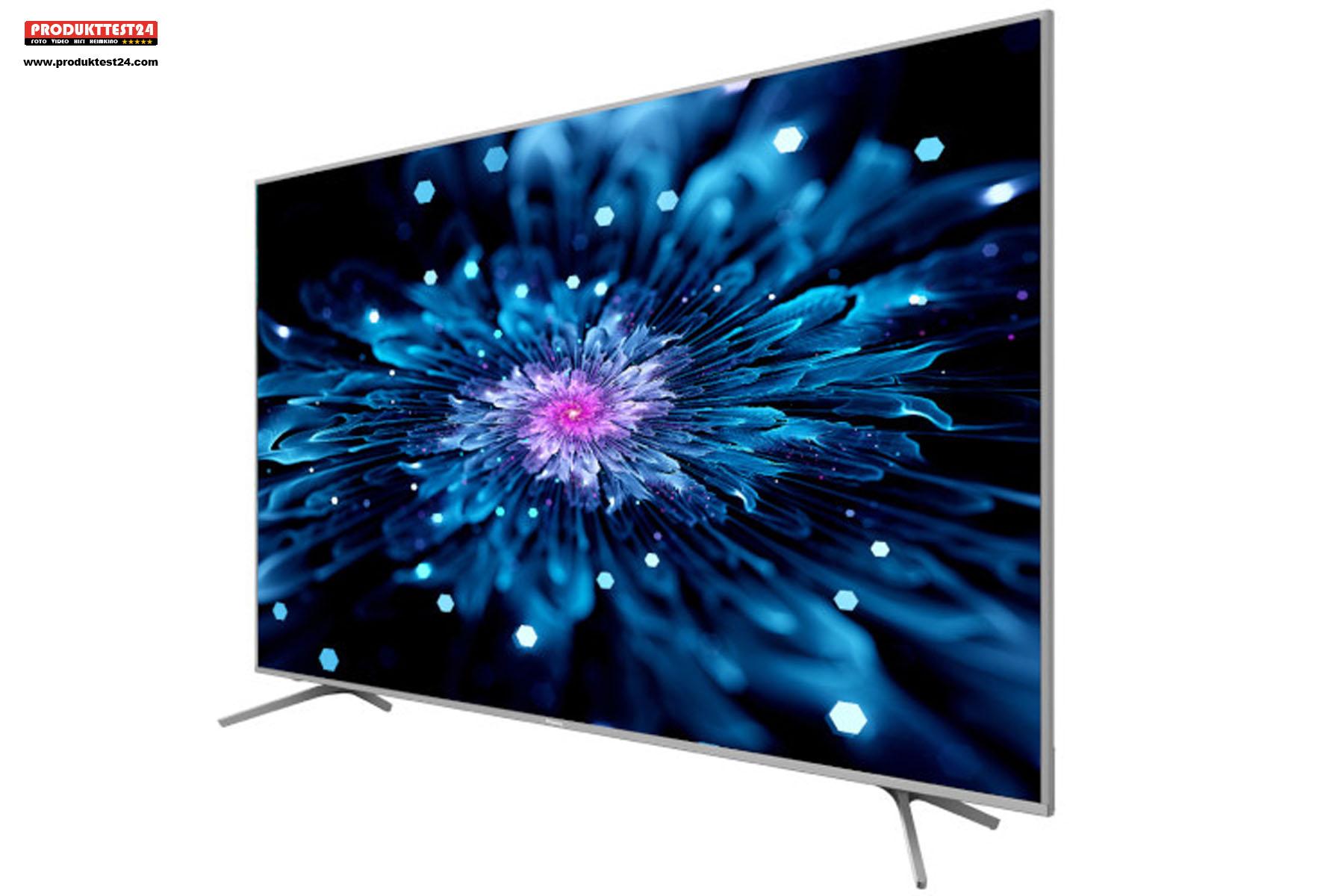 Der Hisense TV unterstützt HDR10+ sowie Dolby Vision