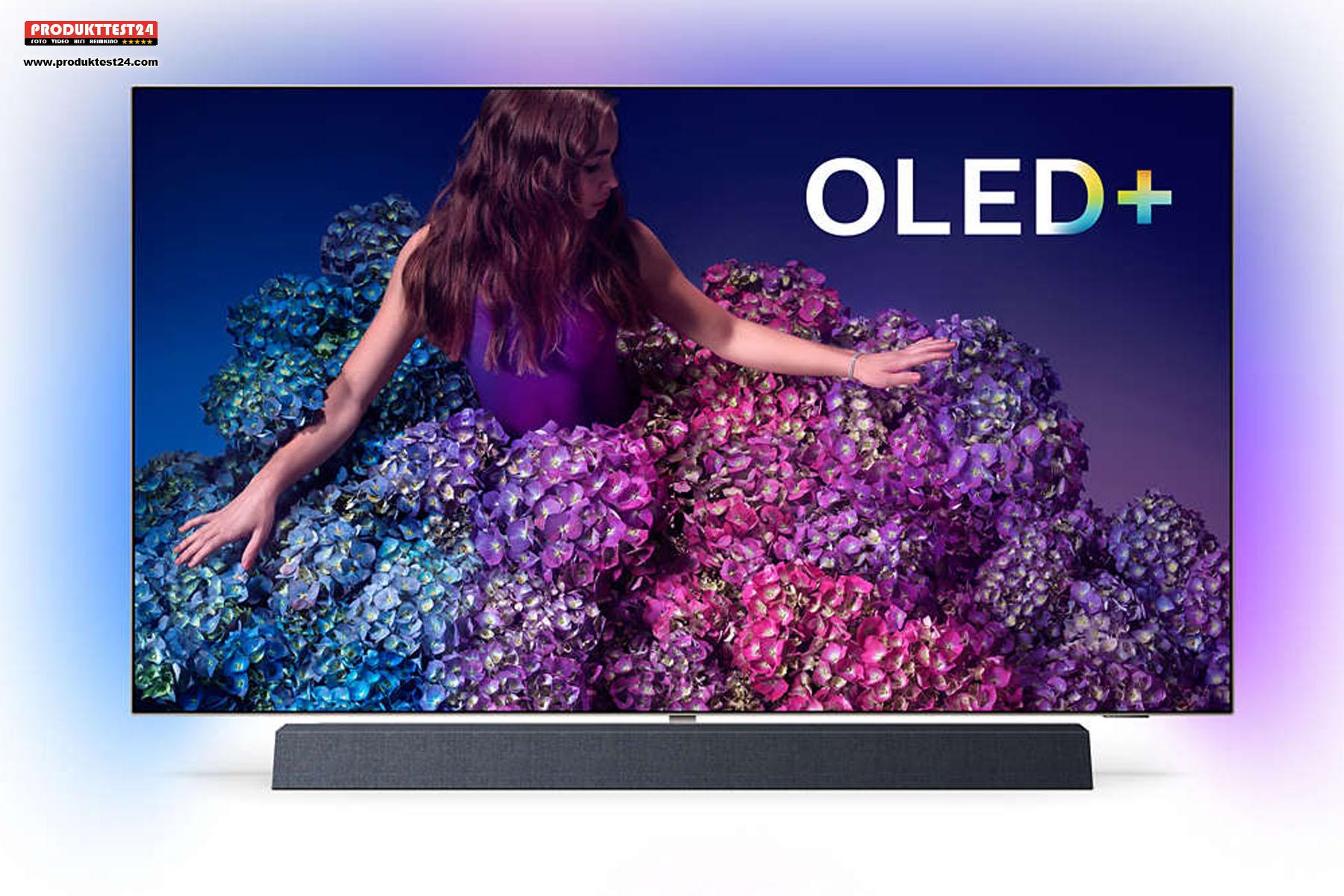 Der Philips 55OLED934/12 OLED+ 4K-Fernseher