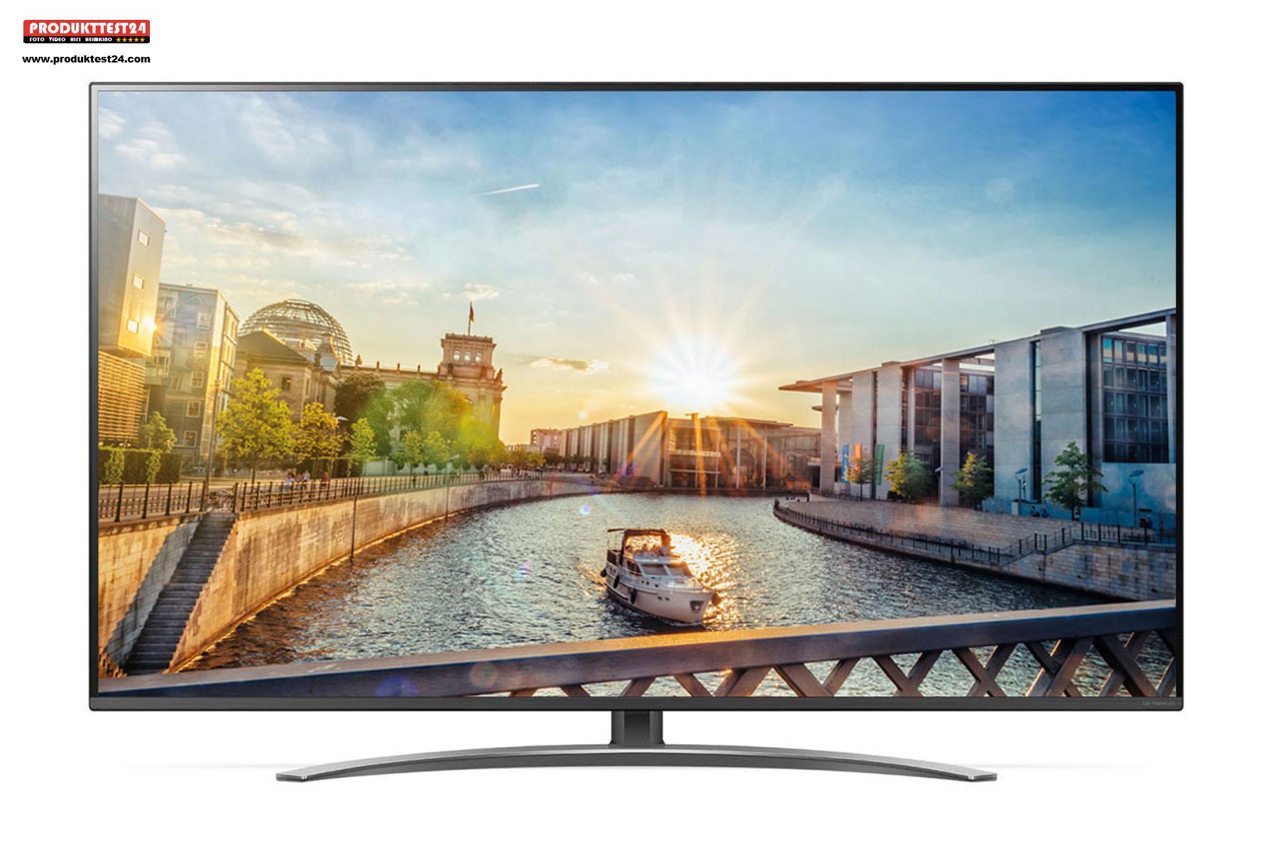 Der 65 Zoll LG 65SM82007LA NanoCell 4K TV