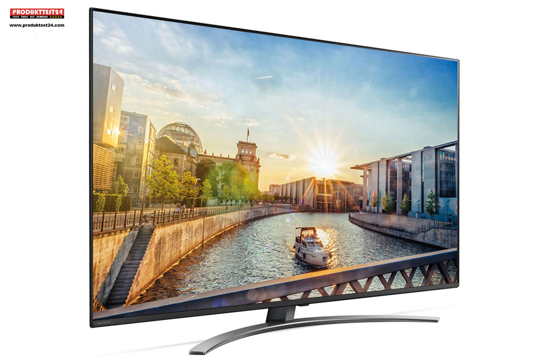 65 Zoll Bilddiagonale, HDR Unterstützung, Triple Tuner und SmartTV mit Sprachsteuerung