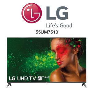 LG 55UM7510PLA Ultra HD 4K-Fernseher im Test