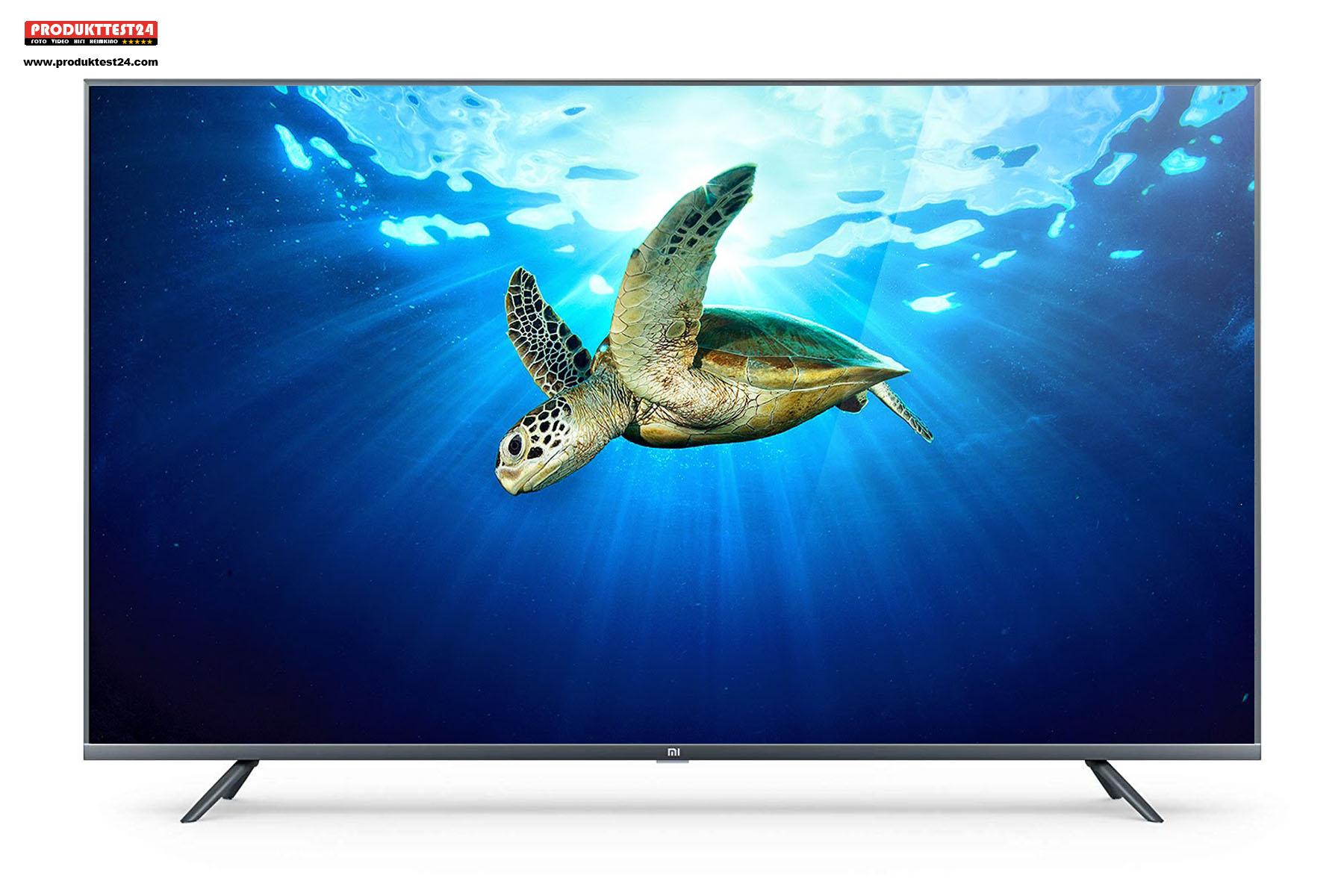 Der China Fernseher mit einem 43 Zoll IPS Display, Android.TV mit Sprachsteuerung und Triple Tuner