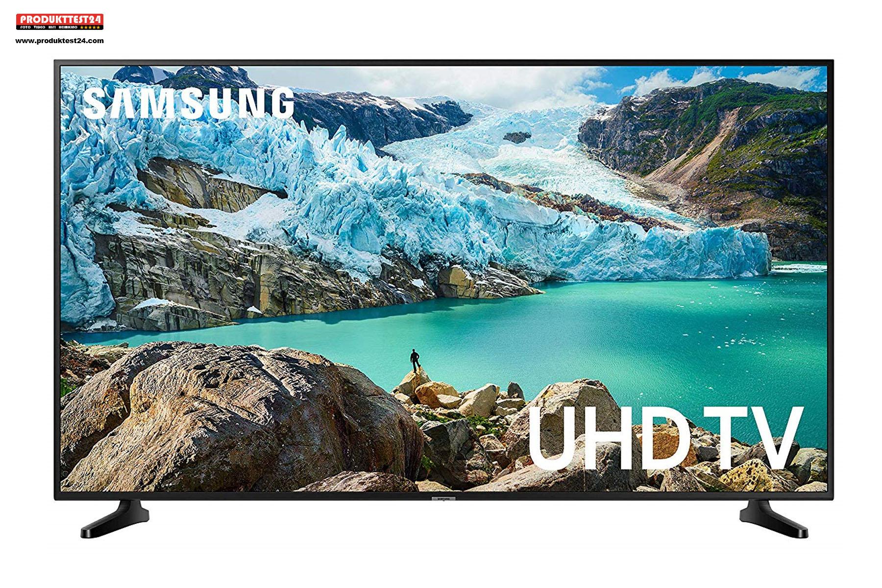 Samsung UHD 4K-Fernseher mit 75 Zoll, Triple Tuner und SmartTV