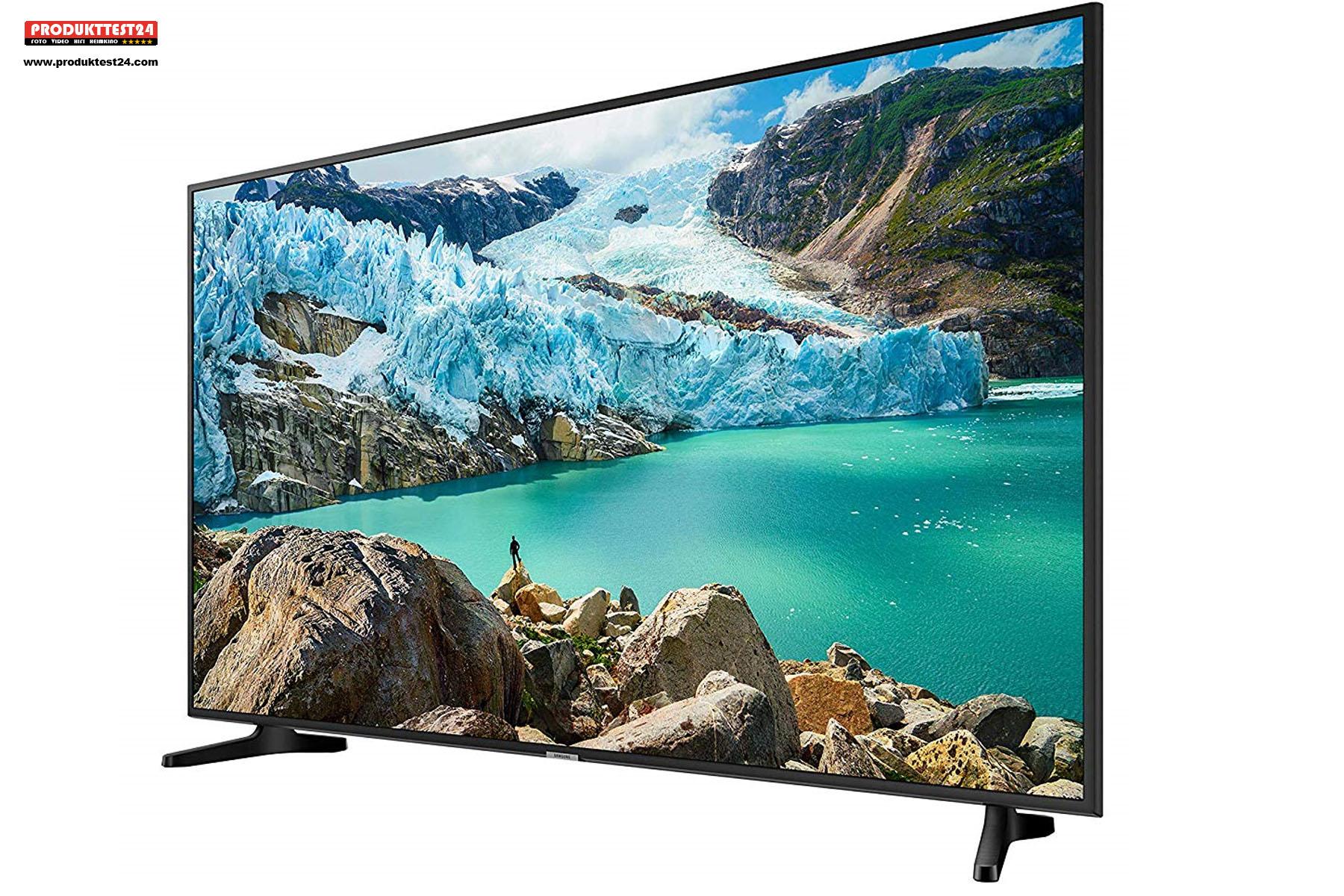 Echter Ultra HD Fernseher mit 65 Zoll Bilddiagonale und HDR Unterstützung